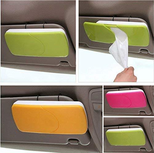 Car Sun Visor Box Paper Napkin Holder