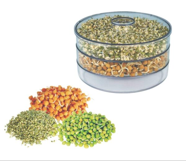 Hygienic Sprout Maker with 4 Container