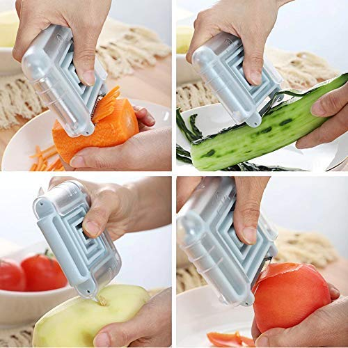 3 in 1 Switchable Fruit Vegetable Peeler