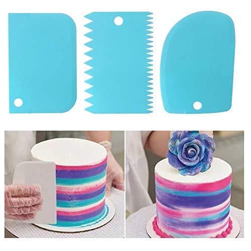 3 PC Cake Scrapper