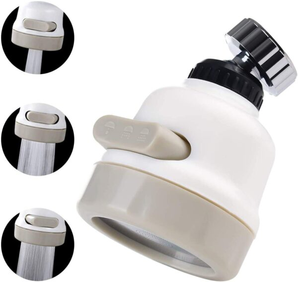 360 Degree Rotating Sprinkler Faucet
