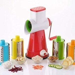 4 in 1 Shredder Slicer for Vegetables,Fruits and Dry-Fruits