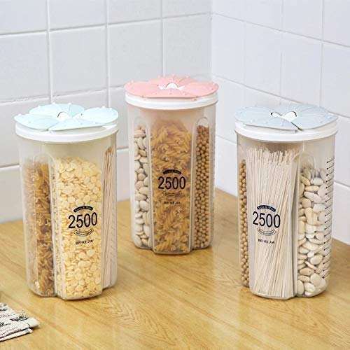 4 in 1 Air Tight Transparent Food Storage containers