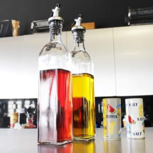 Home Kitchen Cooking Oil or Vinegar Dispenser 500 ML Pack of 2