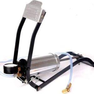 Heavy Steel Body Gauge Air Foot Pump