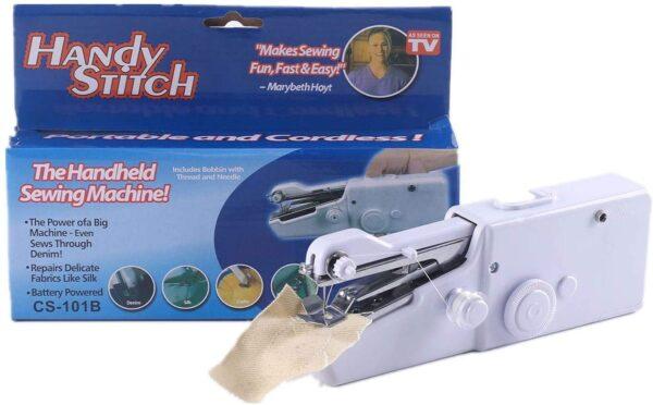 Cordless Handheld Electric Mini Sewing Stitching Machine