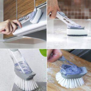 Handy Scrubber Decontamination Brush