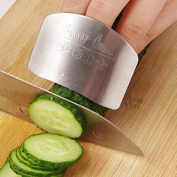 Stainless Steel Finger Protector Knife Cutting
