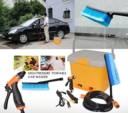 Portable High Pressure Water Spray Car Washing Machine