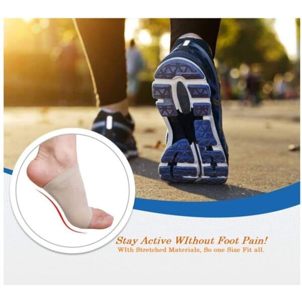 Arch Support Socks with Comfort Gel Pad Cushions