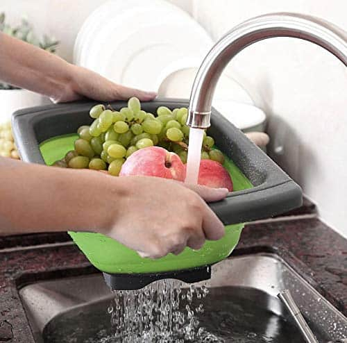 silicone-food-strainers-drainer-basket