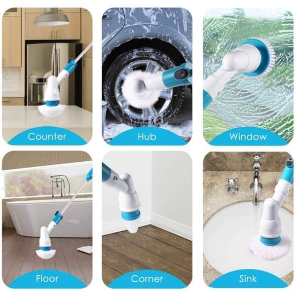 Bathroom Tile Floor Cleaning Turbo Scrubber