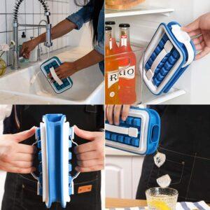 2-IN-1 Portable Ice Maker & Bottle
