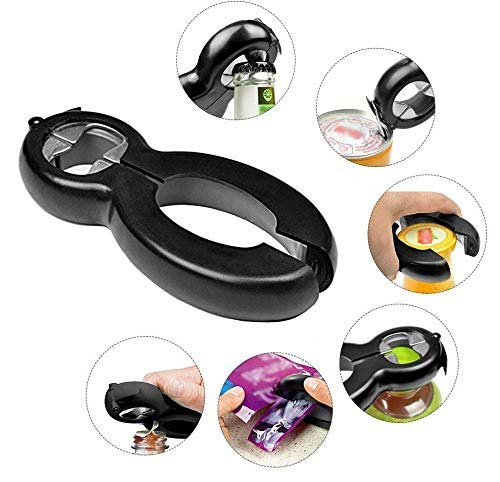 6 in 1 Multifunction Stainless Steel Can Opener