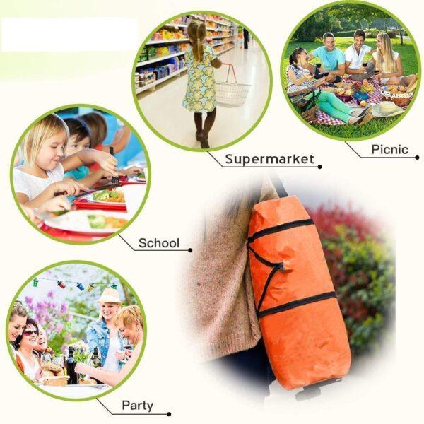 Foldable Shopping Trolley Bag