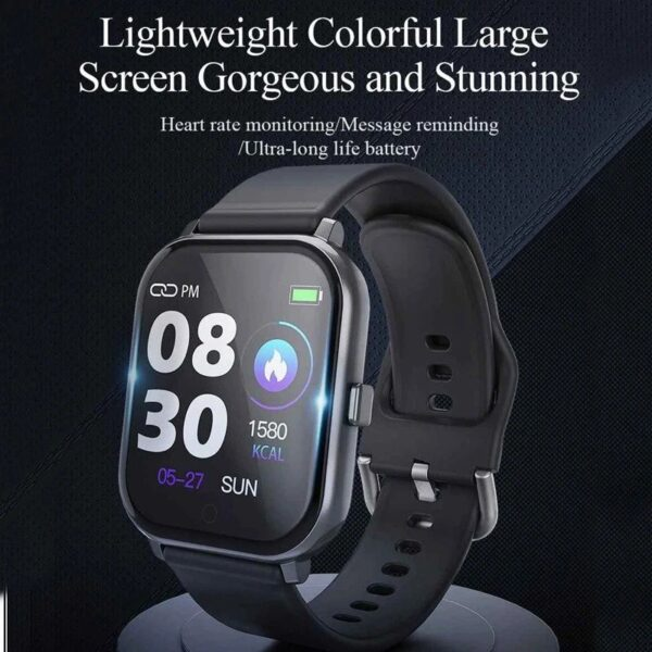 T55 Bluetooth Smartwatch with Dual Belts