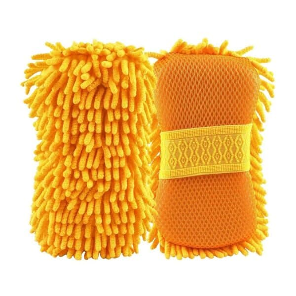 Pack of 2 Car Wash and Dry Cleaning Sponge