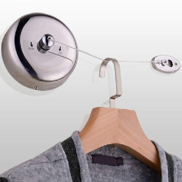 Retractable Clothesline Stainless Steel