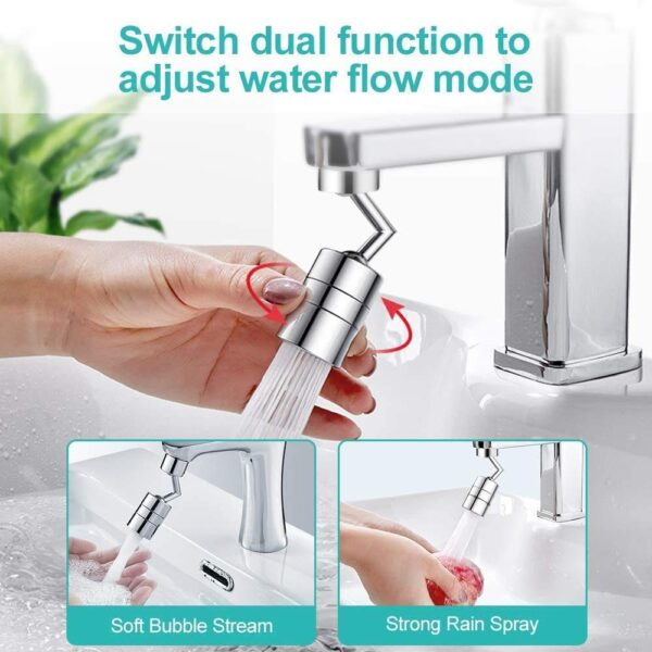 Kitchen Shower 720 Degree Rotatable Faucet