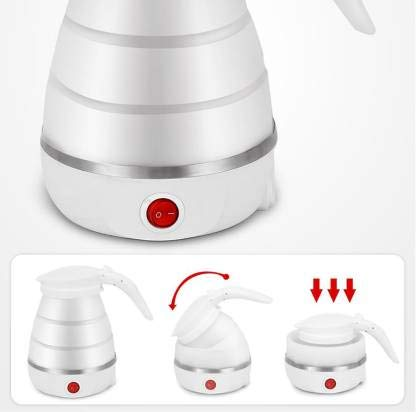 Silicone Foldable Travel Kettle
